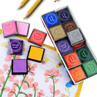 15 Colors DIY Craft Ink Pad Rubber Stamps Pads Printing Wood Fabric Paper New
