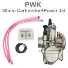 1 Pcsk 30mm High Performance Carburetor W Power Jet For Motorcycle Scooter ATV