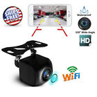 150WiFi Wireless Car Rear View Cam Backup Reverse Camera ForiPhone Android ios