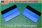Usa Stocked Vinyl Application Squeegee Felt Wrap Sticker Decal Tint Tools Decal