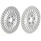 11.5'' Polished Front Brake Rotors for Harley Sportster 1000 XLS 84-85 XR 83-85