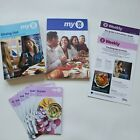 WW Weight Watchers program book 6 trackers1 Dining Out Shopping book2 weeklys