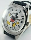 FORTIS RED AND WHITE MICKY MOUSE DIAL SWISS MADE 17J HAND WINDING WATCH WRIST A+
