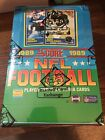 1989 Score Football Box BBCE Sealed FASC From A Sealed Case