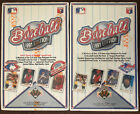1991 UPPER DECK BASEBALL BOX LOT OF 2 BOTH CHASE VARIANT RELEASES FACTORY SEALED