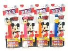 4 Disney Pez dispensers MickeyMouse,Minnie Mouse,Donald,Goofy Dated 03/2024 E02