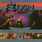 SAXON 10 YEARS GREATEST HITS LIVE! CD 1991 EXCELLENT CONDITION HARD TO FIND
