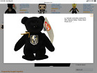 Vegas Golden Knights TY Beanie Babies Baby Plush New With Original Tags RARE
