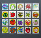 Vintage TREND Glossy Scratch and Sniff Stickers Lot B 20 Stickers