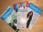 Weight Watchers Points Plus Starter Kit 2010 W 10 Weekly Brochures