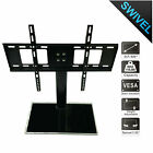 Universal Table Top TV Stand Base Bracket Mount for 37 55 inch Flat Screen US