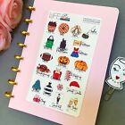 Fall Winter Bucket List Stickers Planner Stickers for all types of planners