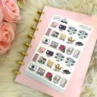 Monthly Bills Icon Stickers Planner Stickers for all types of planners