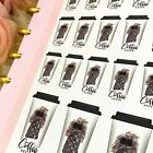 Coffee Break Stickers Dark Skin Planner Stickers for all types of planners
