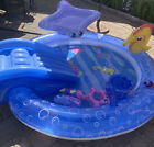 RARE New Inflatable Kids Swimming Pool Slide Toys Umbrella 73 X 80 USA Seller