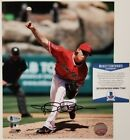 Jered Weaver autograph signed 8x10 Photo Los Angeles Angels Beckett BAS COA