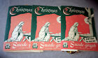 Vintage 3+ Sets 1952 Suede Graph Christmas Nativity Bible Story Flannel Board