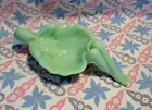 Jadeite Green Glass Lady Soap Dish in Excellent Condition