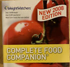 WEIGHT WATCHERS WW 2008 EDITION Complete Food Companion 18000 Foods Listed