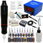 Complete Tattoo Pen Kit Professional Javelin Machine Starter Set GUN 20 Ink