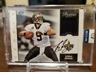 2016 Honors 2012 Prestige Football Drew Brees Patch Auto 4 5 Sealed
