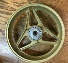 Ducati 750 F1 Gold Oscam Rear Wheel 3.00-18 Original Equipment Ducati Embossed