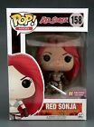 FUNKO POP! Heroes Red Sonja Bloody #158 PX Previews Exclusive w POP! Protector