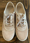 Toms Oxford Corduroy Sneakers Tennis Shoes Ortholite Size 65
