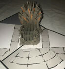 Lovepop The Iron Throne, Game of Thrones Pop-Up Greeting Card HBO Free Shipping