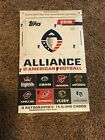 2019 Topps AAF Factory Sealed Box