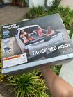 Summer Waves Inflatable Truck Bed Pool Game Day Intex Bonzai Kids Tailgate Slide