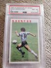Diego Maradona A Question Of Sport 1987 Argentina PSA 8 nearly mint Trade Card