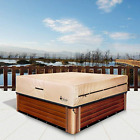 pool spa part Hot Tub Outdoor Cover Cap Heavy Duty Water Resistant size Fits hot