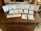 Large Scrapbook Lot of Rubber Stamps and Ink Pads Stampin Up