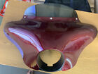 Harley-Davidson Outer Fairing for '08-'13 Softail Breakout red w/windshield