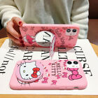Cute Hello Kitty Soft Case For iPhone 11 Pro Max SE 2020 XR Disney Protect Cover