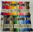 50 DMC 25 Embroidery Floss Lot 50 Skeins 50 Different Colors NOS Lot 022