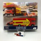 Porsche 962  Fleet Flyer MOMO  Hot Wheels Car Culture Team Transport