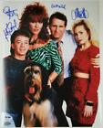 Married With Children cast signed 11x14 Photo PSA DNA COA LOA Sagal Ed O'Neill