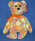 TY GROOVEY the BEAR BEANIE BABY - MINT with MINT TAGS