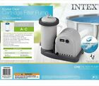 Intex 28635EG 1500 GPH Krystal Clear Filter Pump Above Ground Pools SHIPS FAST