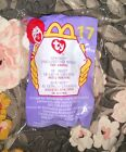 2000 McDonalds Happy Meal TY Springy The Lavender Bunny Beanie Baby  Toy # 17