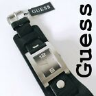 New GUESS Men Watch Genuine Leather Band