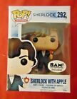 Funko Pop! Television #292 Sherlock Holmes With Apple BAM Exclusive