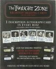 2020 The Twilight Zone Archives Factory Sealed BOX & BINDER Combo w Promo Card