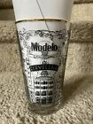 Modelo Limited Edition Artist Series Tattoo Beer Pint Glass Gold Rim Cerveceria