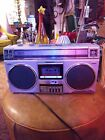 Panasonic RX-4975 Vintage Cassette Stereo Boombox 80's work perfectly very nice