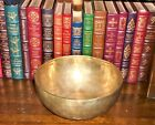 VINTAGE 10 INCH SINGING BOWL FROM NEPAL PERFECT TONE