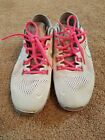 Womens Nike Free 50 Gray Sneakers With Pink Laces Size 8