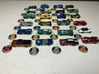 CHILDHOOD COLLECTION LOT 24 ORIGINAL REDLINE HOT WHEELS CASE AND BUTTONS